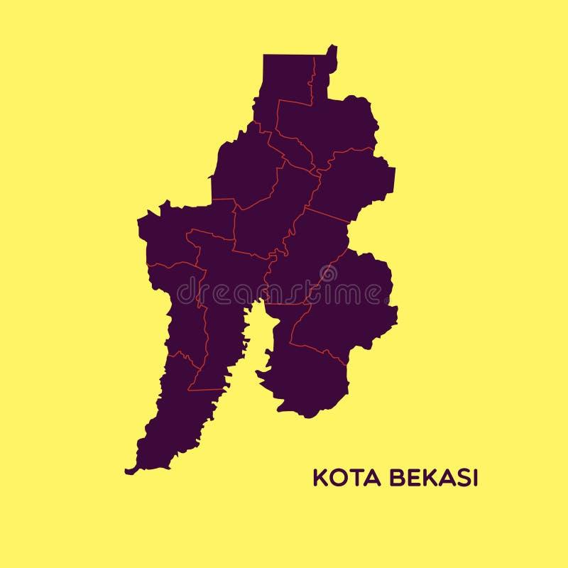 Peta Kota Bekasi. Sumber: Google