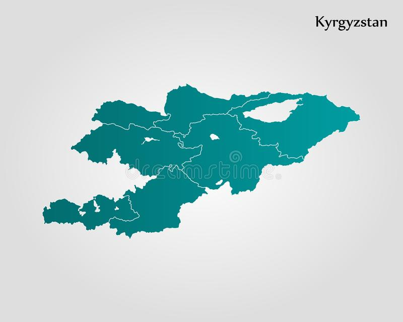 Map of kyrgyzstan stock illustration illustration of outline map of kyrgyzstan vector illustration world map gumiabroncs Images