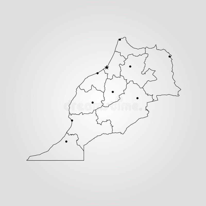 Map of morocco stock illustration illustration of country 109465596 download map of morocco stock illustration illustration of country 109465596 gumiabroncs Images