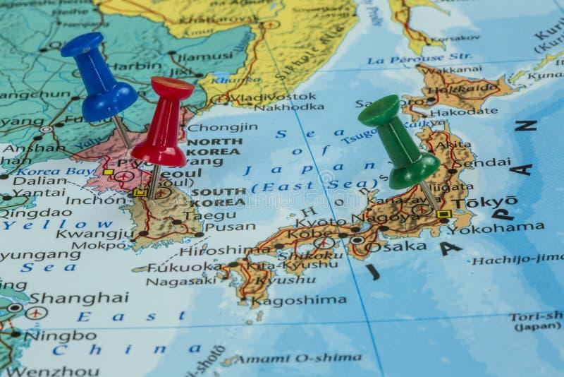 Map of north korea south korea and japan stock image image of download map of north korea south korea and japan stock image image of book gumiabroncs Choice Image