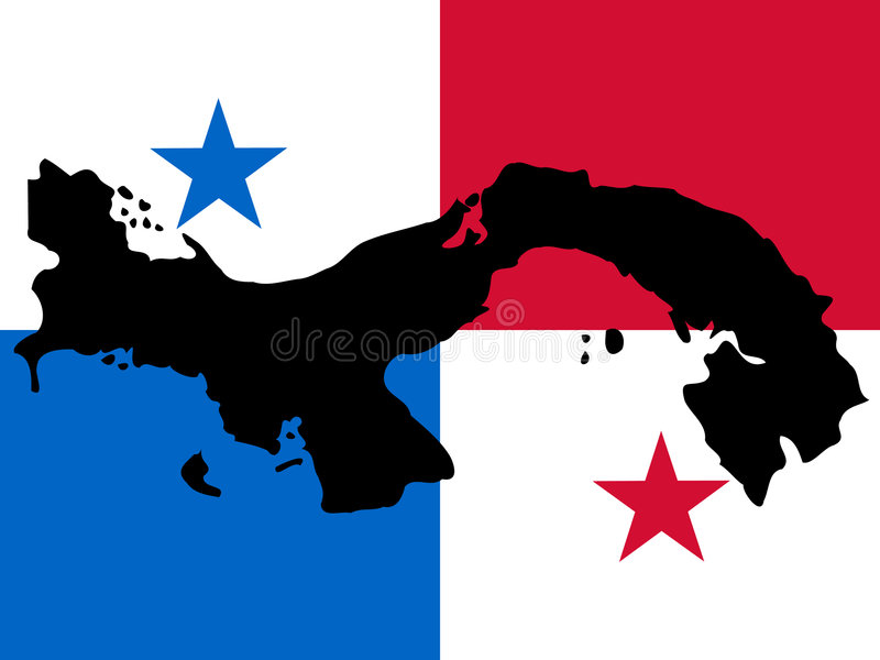 Map Of Panama Stock Vector Illustration Of Central Land - Panama map vector
