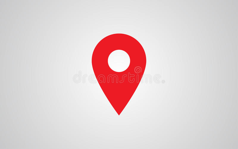 Map Pointer Icon Pin Icon Location Sign Mark Icon: Map Pin Flat Design Style Modern Icon, Pointer Minimal