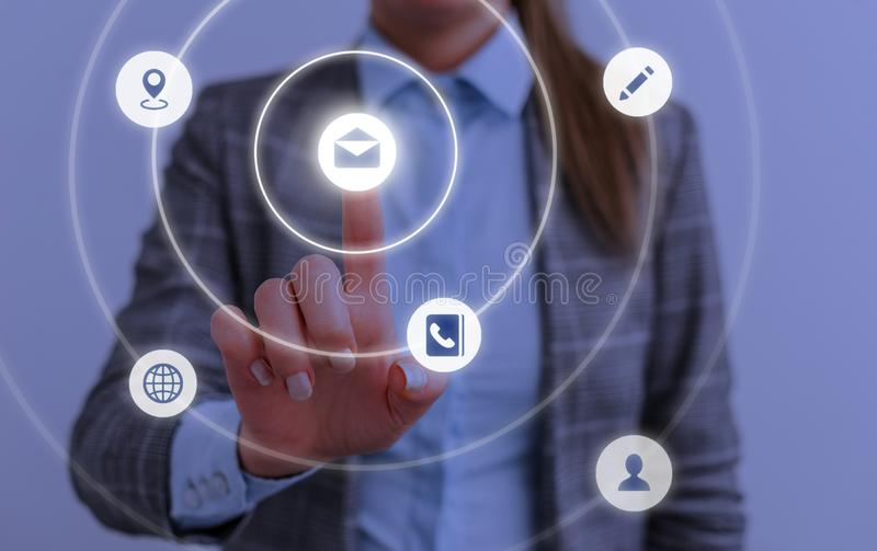 Map point, network connection, international meaning, cloud media network interface concept, copy space. Technology. Digital space for social exchange stock photo