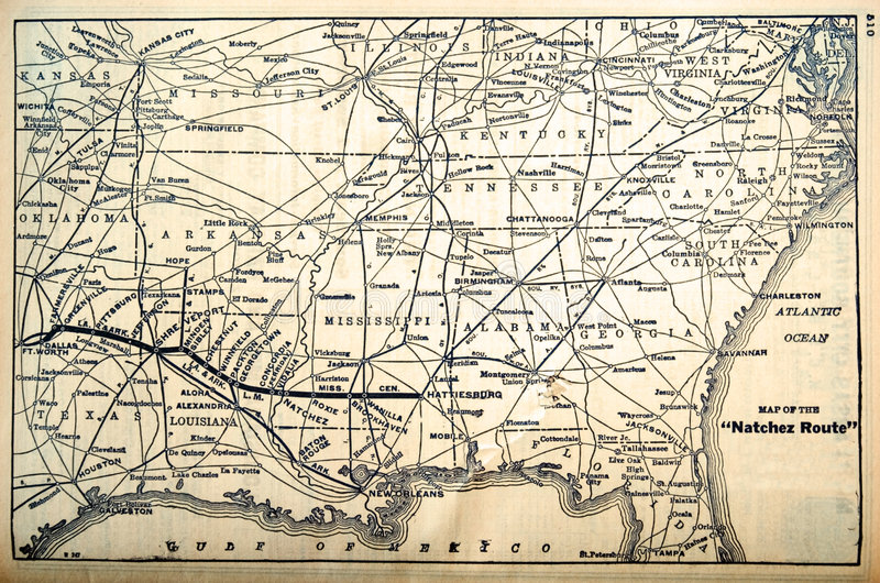 Download Map/Railroad Routes 1960's Stock Images - Image: 5770424