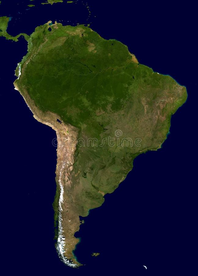 Map Of South America Free Public Domain Cc0 Image