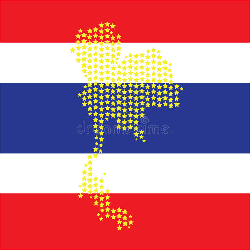 Map thailand stock images