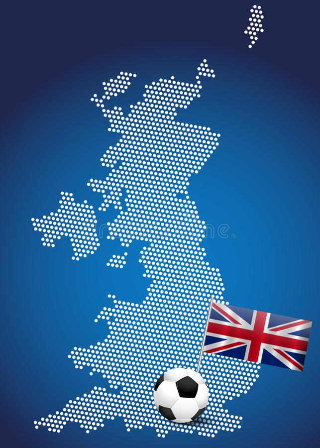 Download Map of UK stock vector. Illustration of graphic, great - 25223299