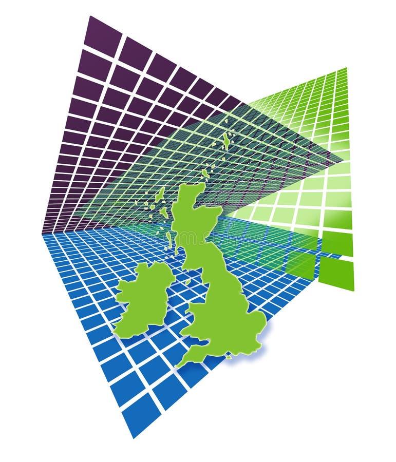 Map Of UK Royalty Free Stock Image
