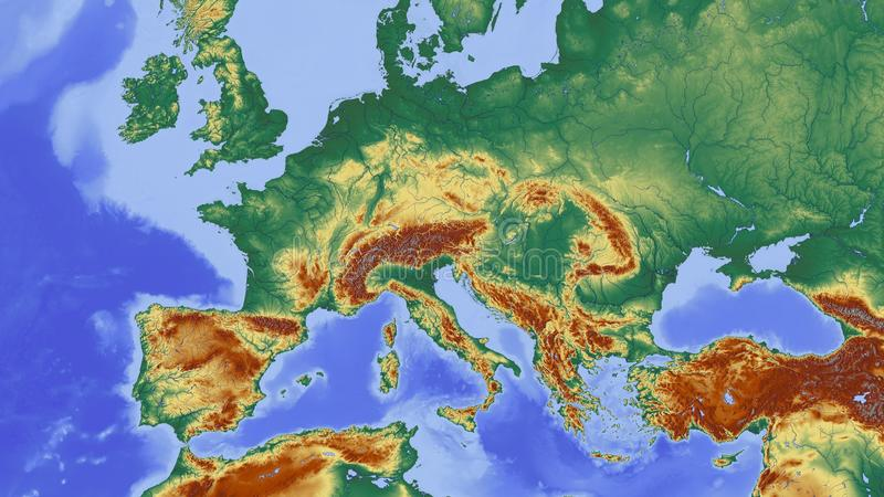 Free Public Domain CC0 Image: Map, Water Resources, Biome, World ...