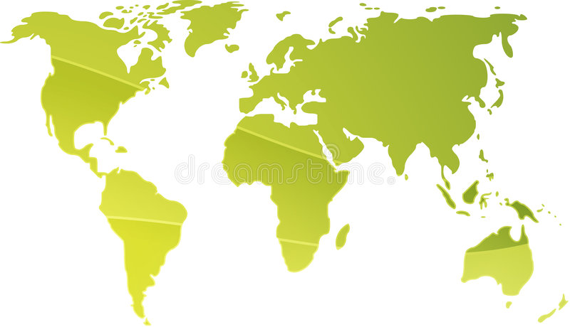 Download Map Of The World Illustration Stock Vector - Image: 6924761