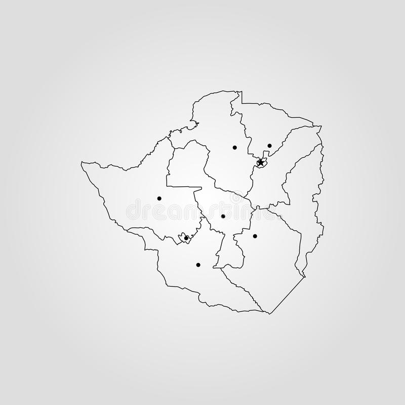 Map of zimbabwe stock illustration illustration of horizontal download map of zimbabwe stock illustration illustration of horizontal 109465128 gumiabroncs Image collections