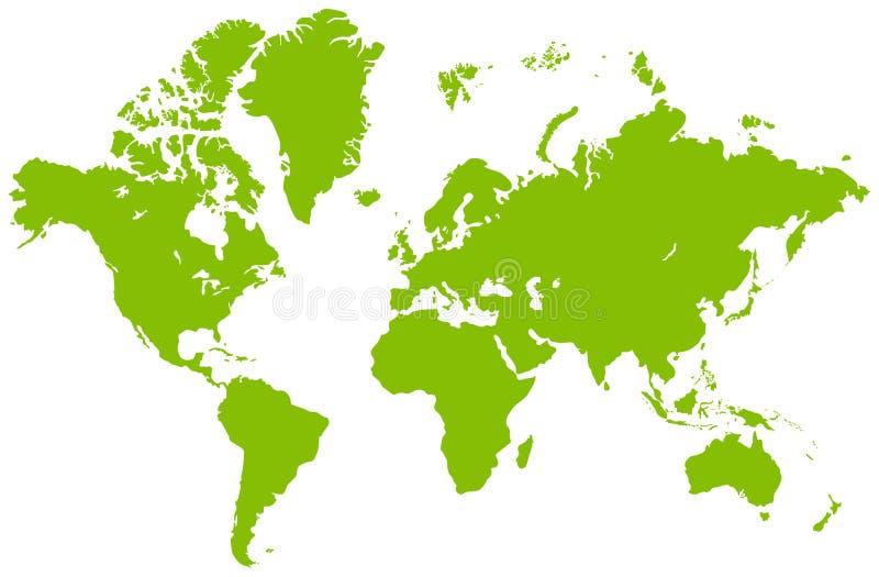mapa świat ilustracji