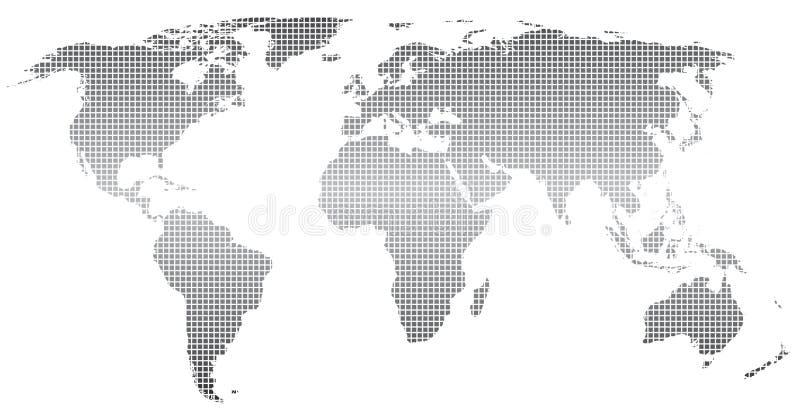 mapa świat ilustracja wektor