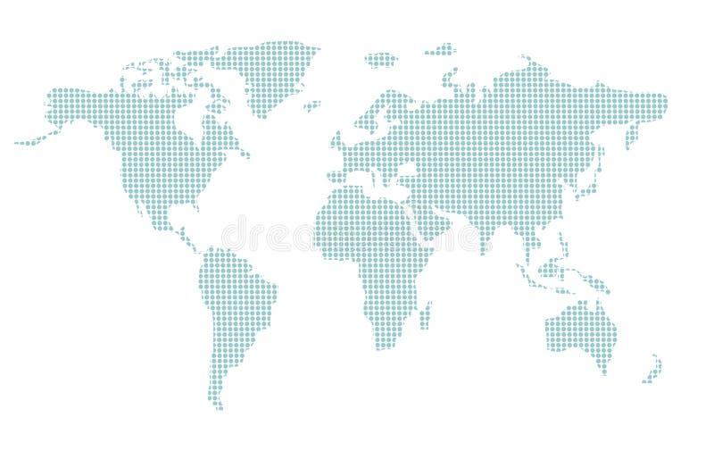 mapa świat zdjęcia stock