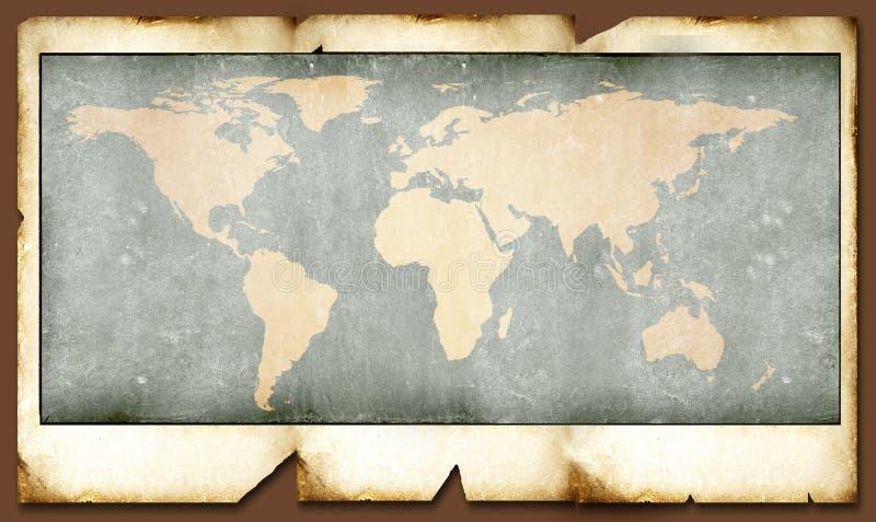 mapa świata roczna ilustracji