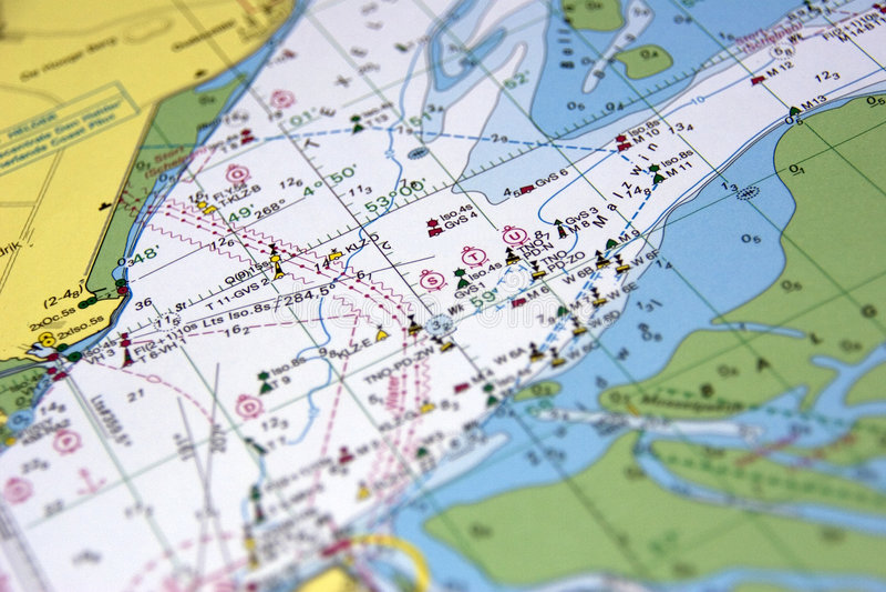 mapa fotografia stock