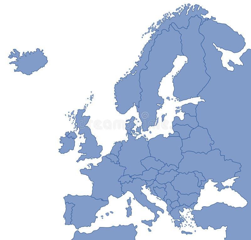 mapa. ilustracja wektor