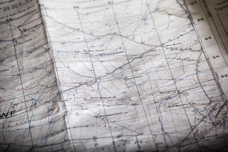Mapa zdjęcia stock