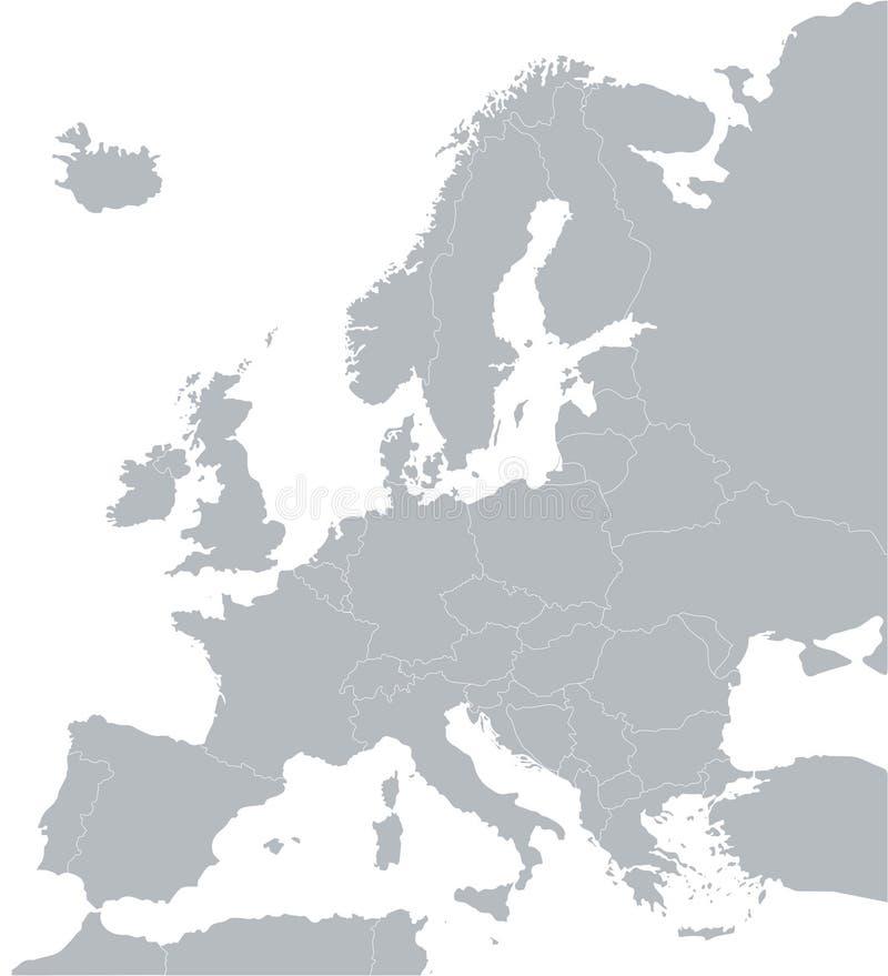 mapa. royalty ilustracja