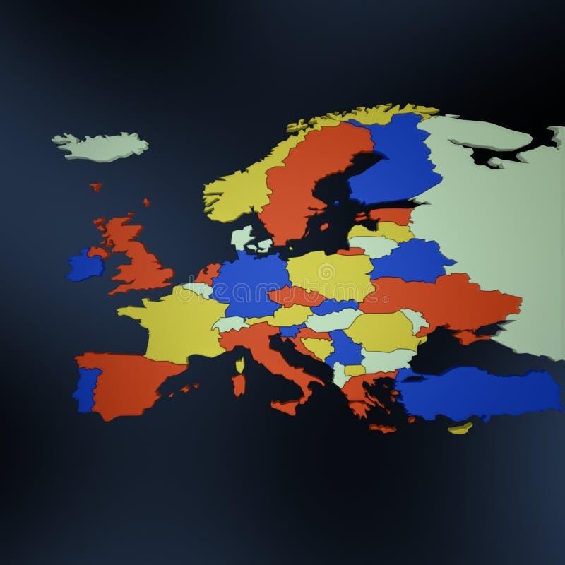 mapa. ilustracji