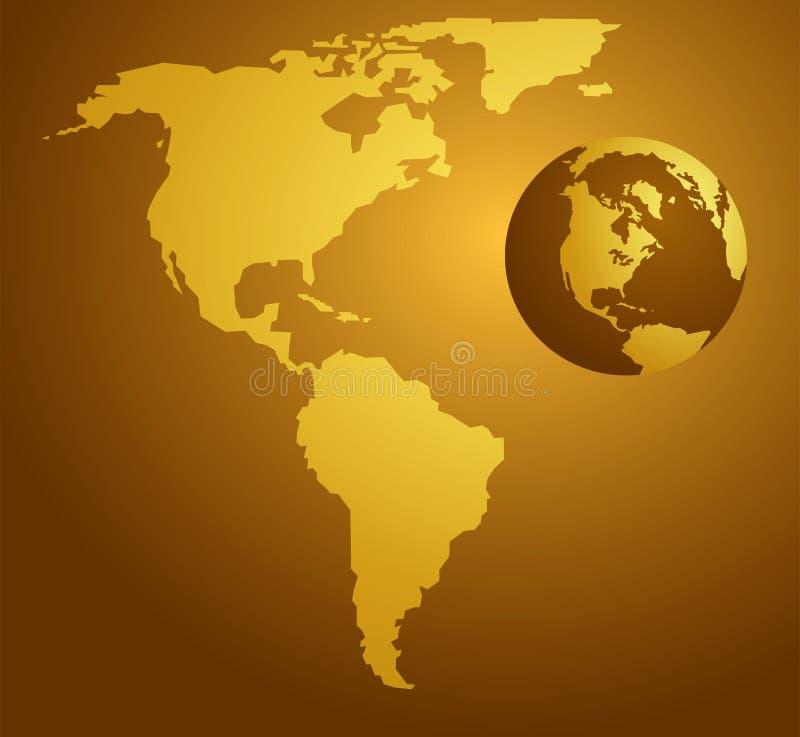 Mapa americano fotos de stock royalty free