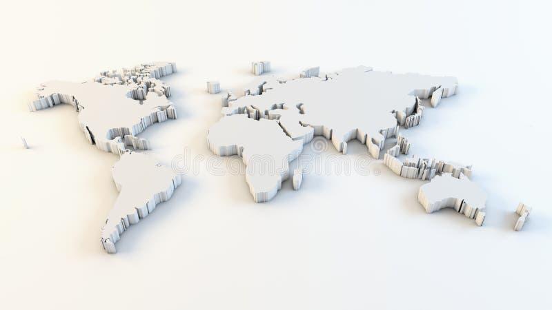 mapa biznesowy świat