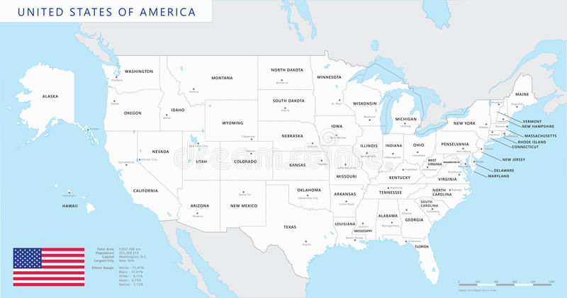 Magnífico Colorear Mapa De Estados Unidos Colección - Dibujos de ...