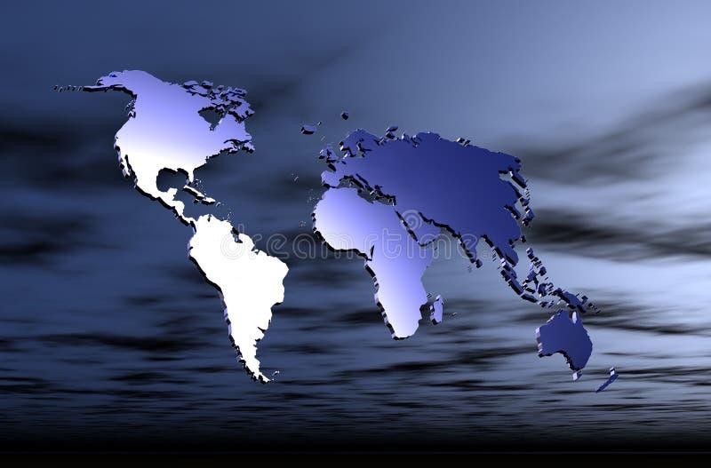 Download Mapa da terra ilustração stock. Ilustração de terra, europa - 532806