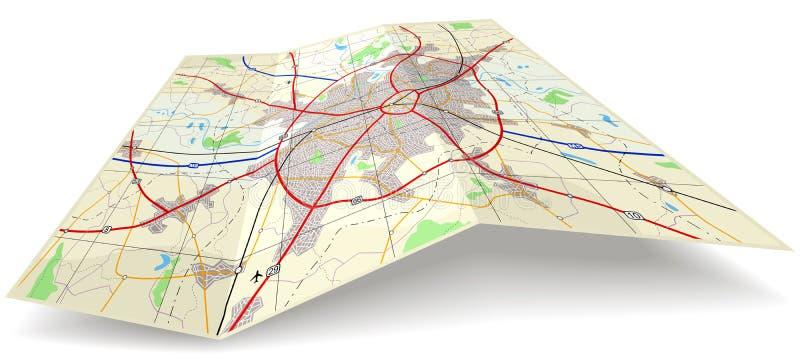 Mapa de dobradura
