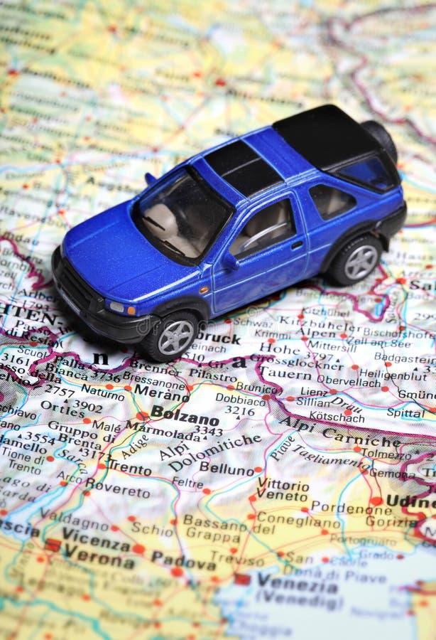Mapa de estrada foto de stock royalty free
