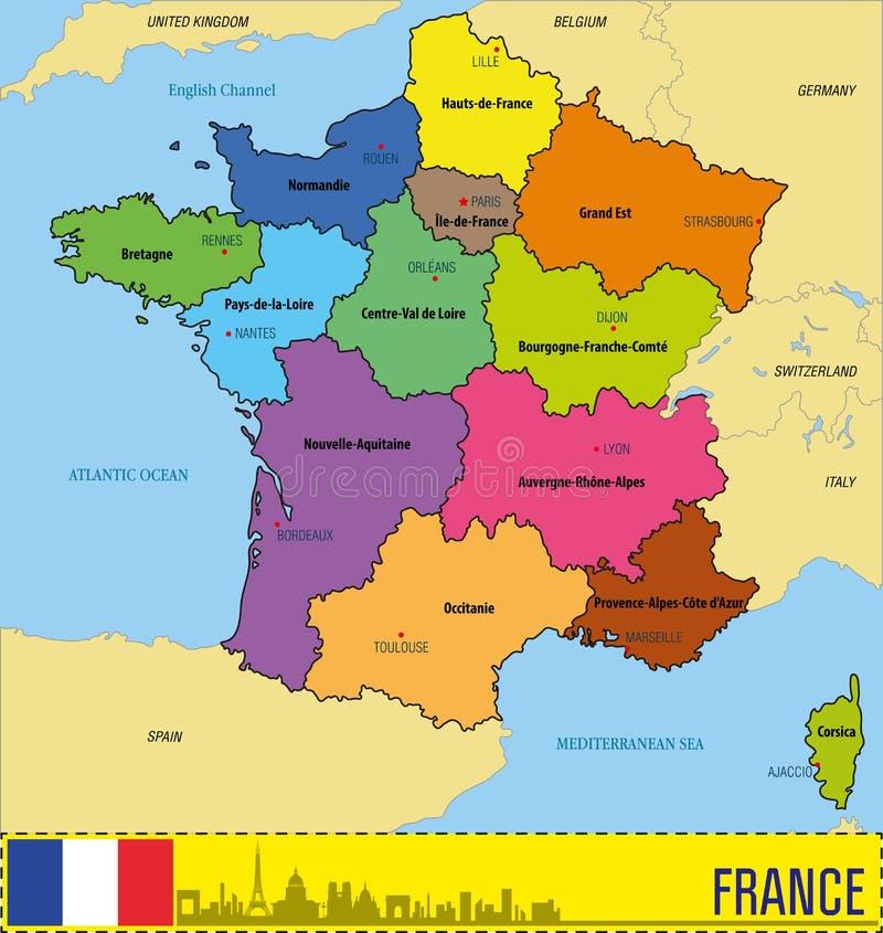frança mapa regiões Mapa De França | thujamassages frança mapa regiões