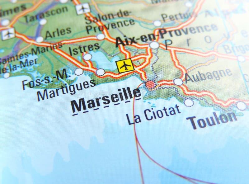 Mapa De Marsella Francia Fotos De Stock Descarga 17 Fotos Libres