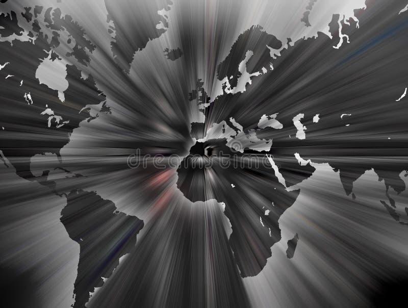 Mapa de mundo.