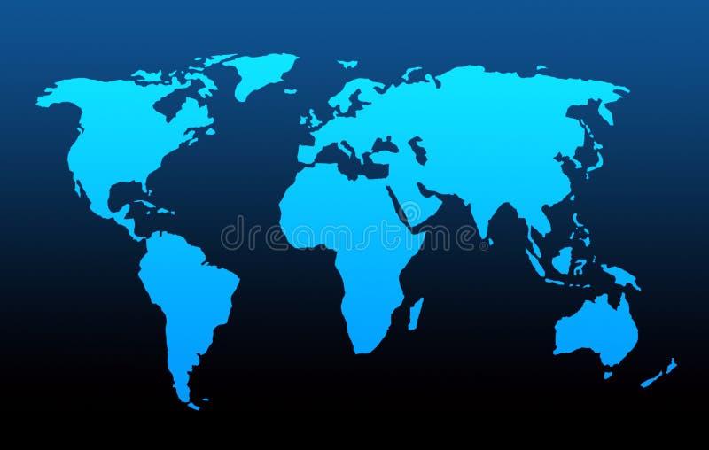 Mapa de mundo