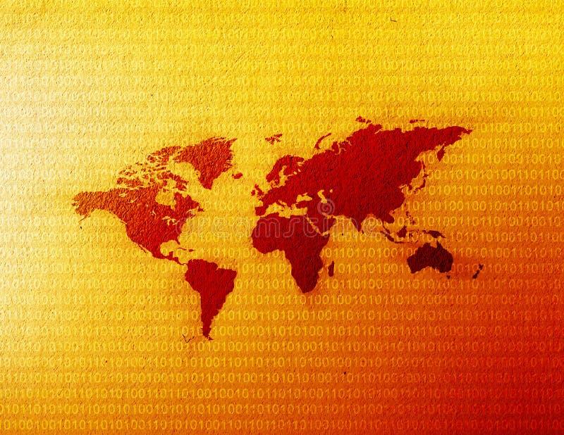 Download Mapa de mundo ilustração stock. Ilustração de continente - 61298