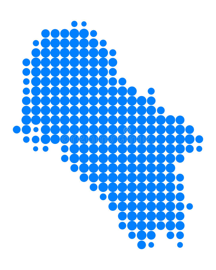 Mapa del IOS libre illustration