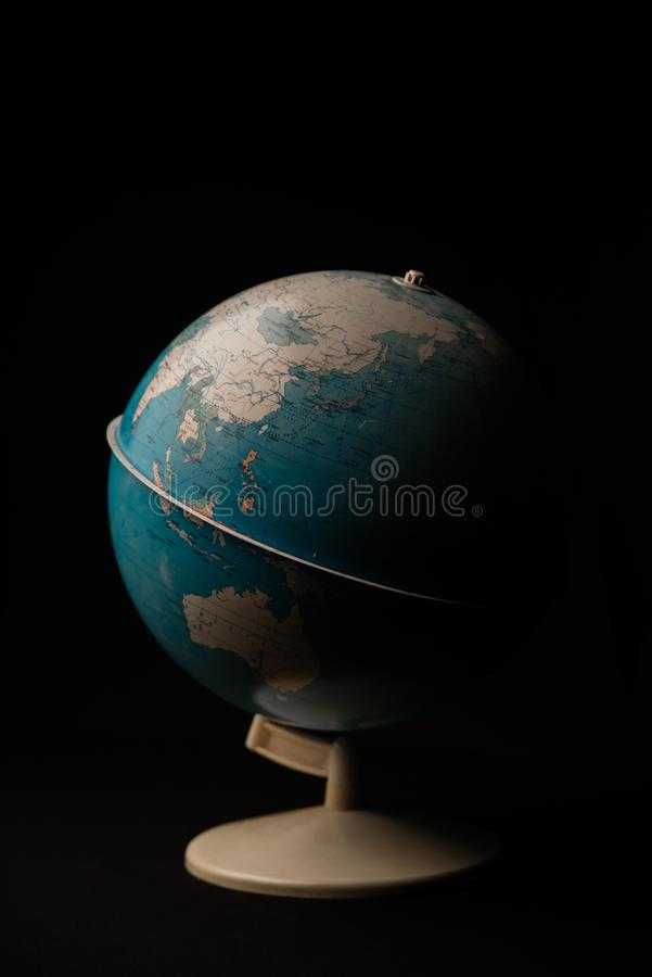 Mapa do globo, conceito do curso Ucrânia, 2019 fotos de stock