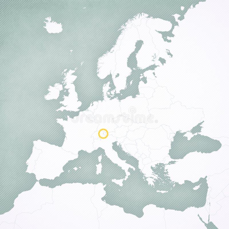 Liechtenstein Stockowych Ilustracji Wektorow Klipartow