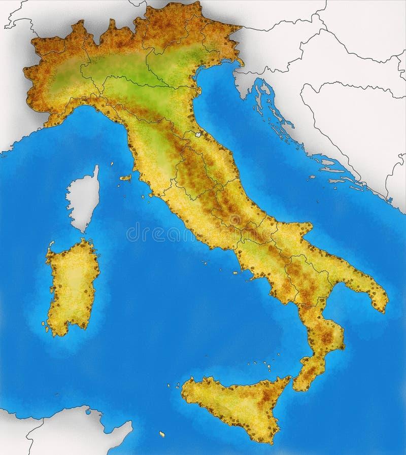 FotoMorfosis - Página 4 Mapa-f%C3%ADsico-del-ejemplo-de-italia-32800519