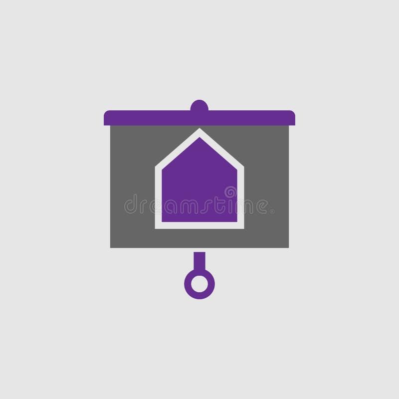 Mapa, icono de la logística Elemento del icono de la entrega y de la logística para los apps móviles del concepto y de la web El  stock de ilustración