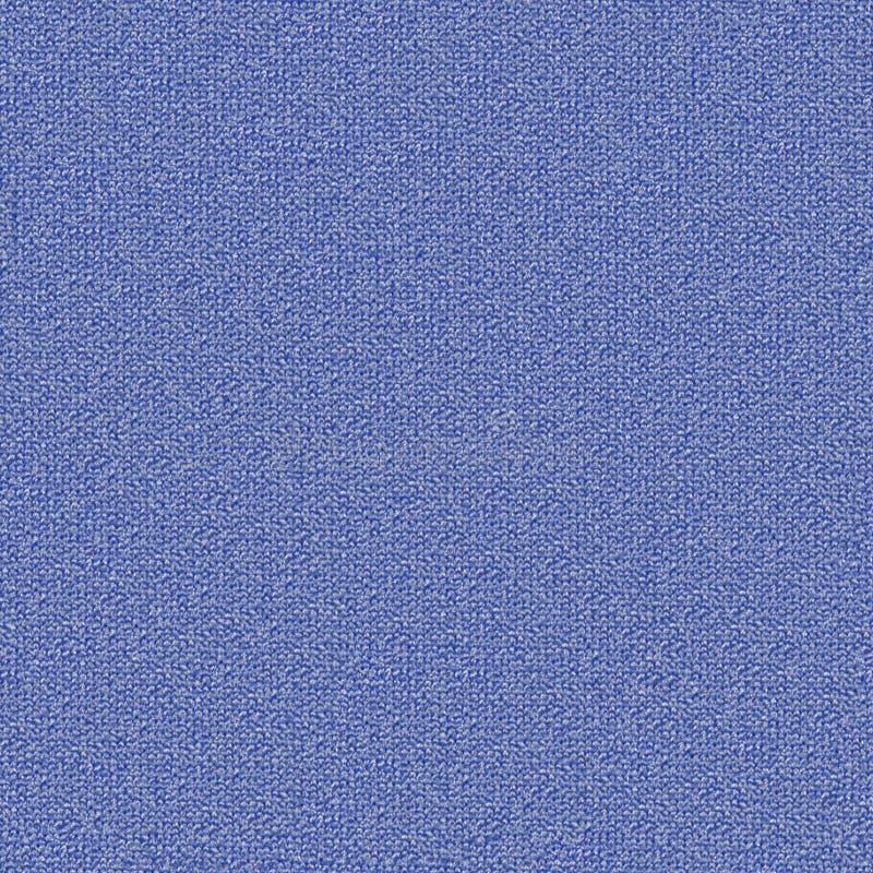 Mapa inconsútil difuso de la textura 6 de la tela Tela azul fotografía de archivo
