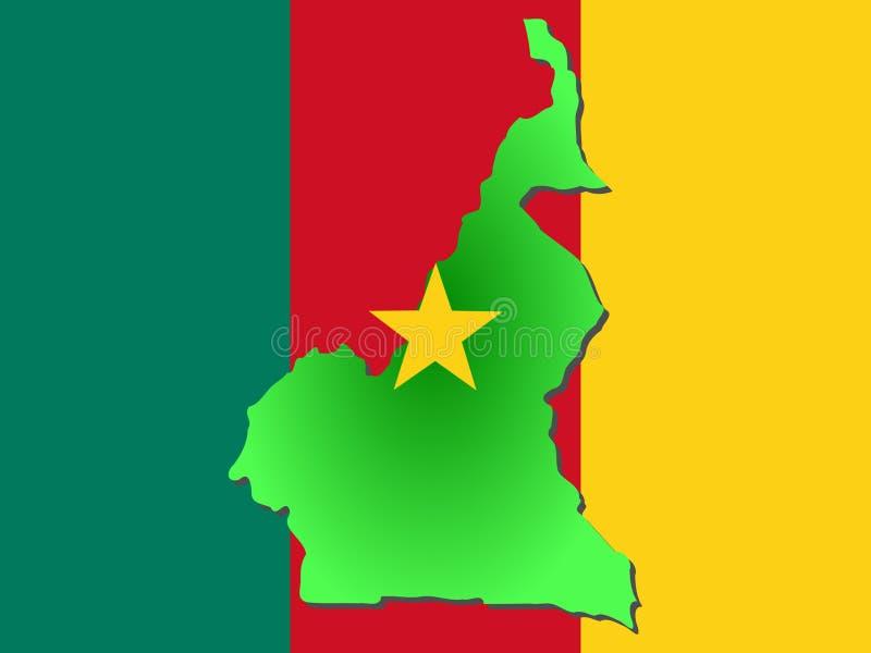 mapa kamerun