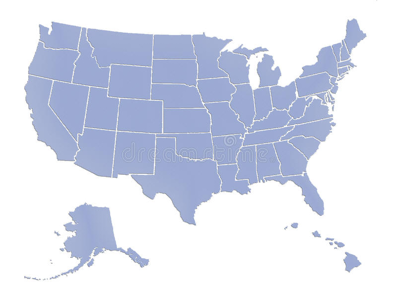 mapa nam florydzie Miami ilustracji