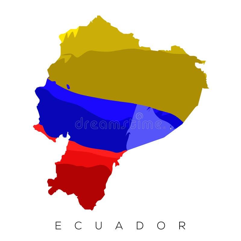 Mapa venezuelano isolado ilustração royalty free