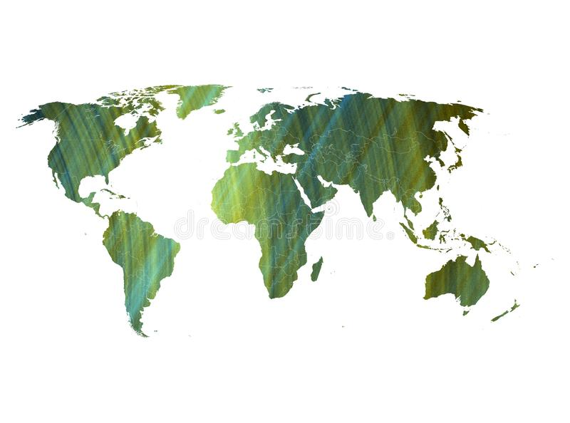 Mapas del mundo al móvil 5G imagen de archivo libre de regalías