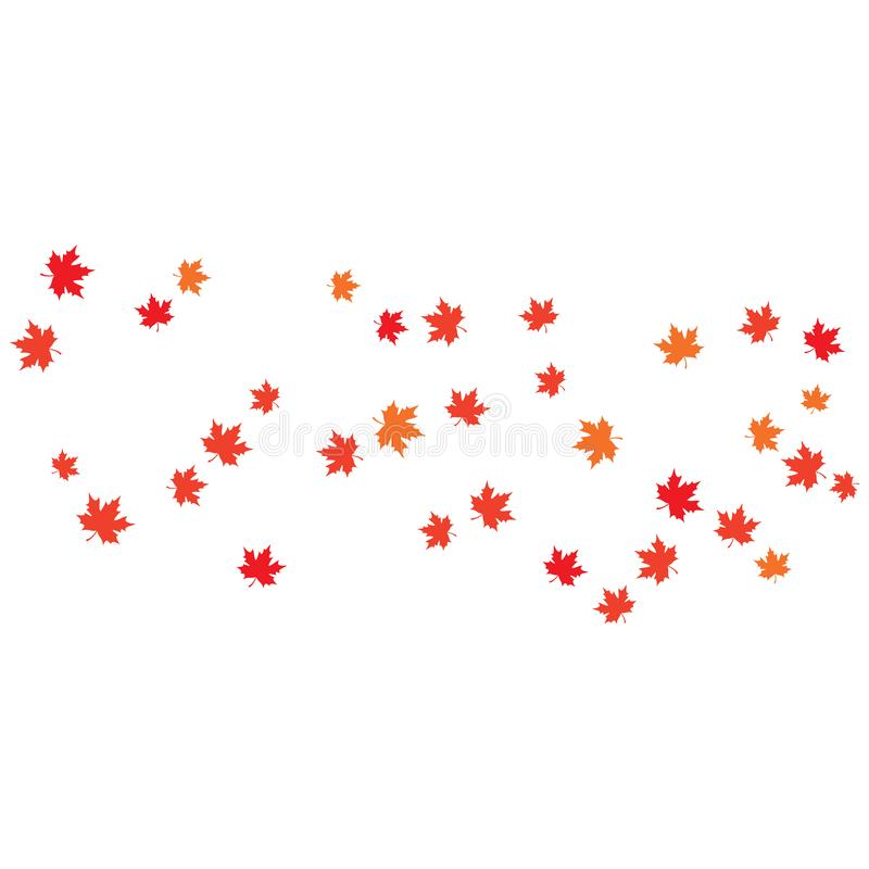 Maple leaf background vector illustration. Design, canada, logo, icon, canadian, white, isolated, nature, art, tree, symbol, element, red, color, graphic, flag stock illustration