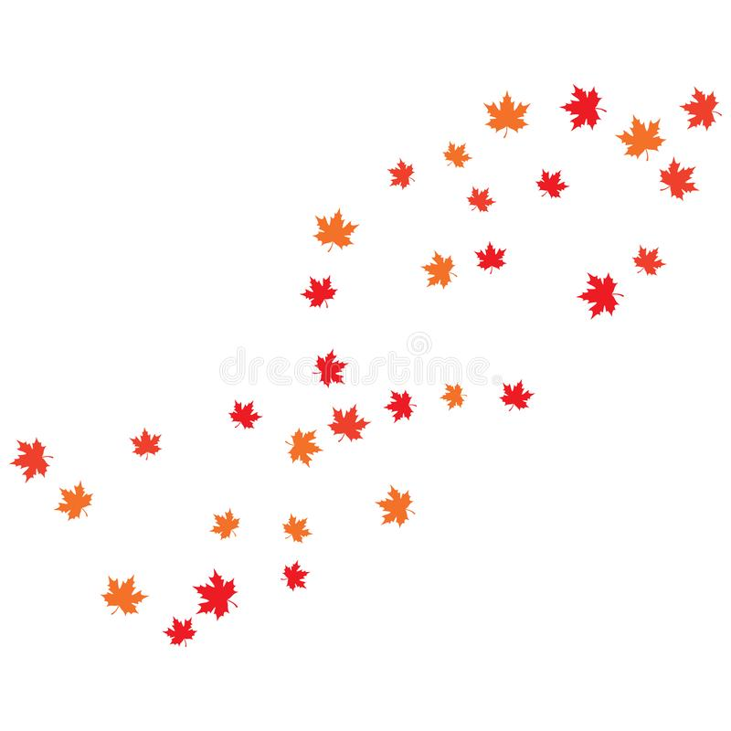 Maple leaf background vector illustration. Design, canada, logo, icon, canadian, white, isolated, nature, art, tree, symbol, element, red, color, graphic, flag vector illustration