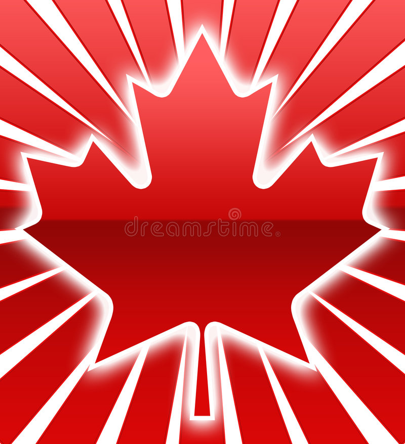 Maple leaf Pattern royalty free stock images