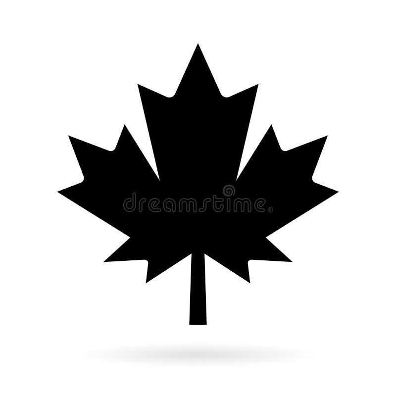 maple leaf vector pictogram stock vector illustration of rh dreamstime com maple leaf vector png maple leaf vector art