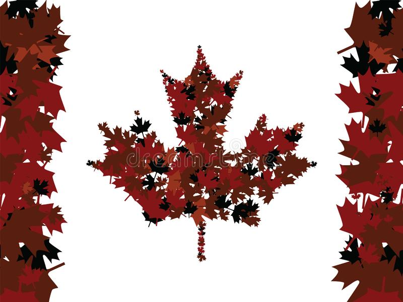 Download Maple Leafs stock vector. Illustration of canada, fall - 18666687
